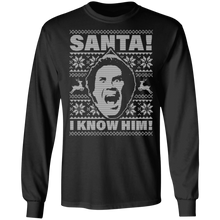 Load image into Gallery viewer, Will Ferrell Santa.OMG! I Know Him Ugly Christmas Sweatshirt - TheTrendyTee