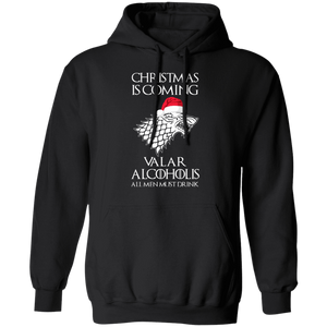 Christmas is coming Valar Alcoholis Ugly Christmas Sweater - TheTrendyTee