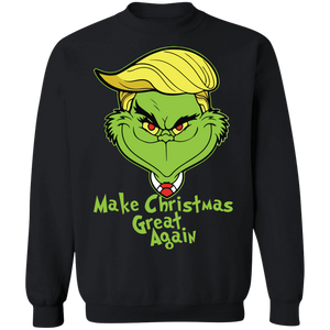 Grinch Make Christmas Great Again T-shirt - TheTrendyTee
