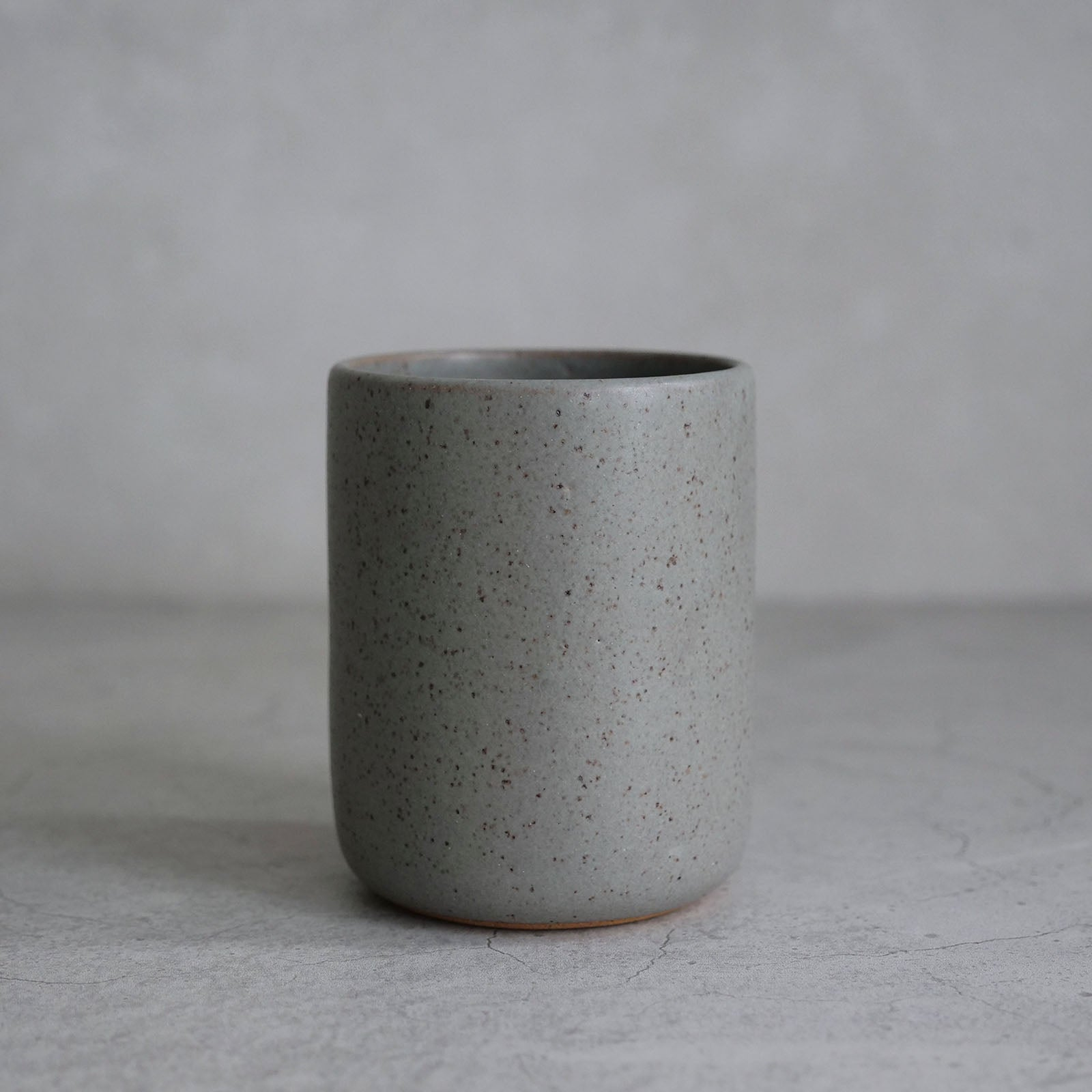 Cup - Speckle Grey