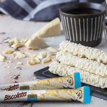 Load image into Gallery viewer, Biscolata Nirvana Rolled Wafers with Chocolate Cream Filled - 12 Pack Wafer (Coconut)