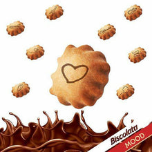Load image into Gallery viewer, Biscolata Mood Cookies with Chocolate Filling 6 Cups, Crispy Cookie Shell Filled with Milk Chocolate