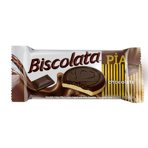 Biscolata Pia Cookies with Fruit Filling – 12 Pack Snacks Soft Baked Cookies (Chocoate)