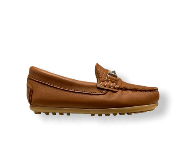 Rettos Tan Leather Classic Loafer
