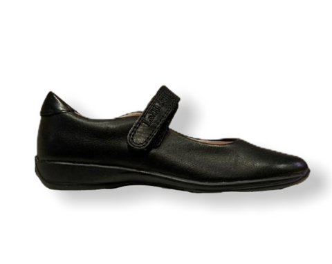 Lelli Kelly Classic Black Leather School Shoe