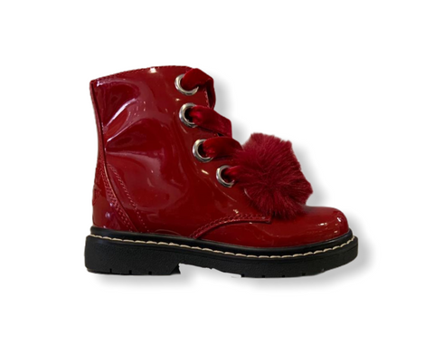 Lelli Kelly Rocco Di Neve Red Patent Boots