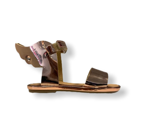 Babywalker Winged Hermes Copper Sandal