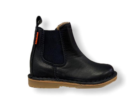 Petasil Kaz Navy Leather Chelsea Boot