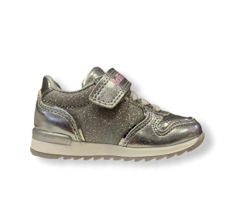 Lelli Kelly Cloe Silver Sequin Trainer