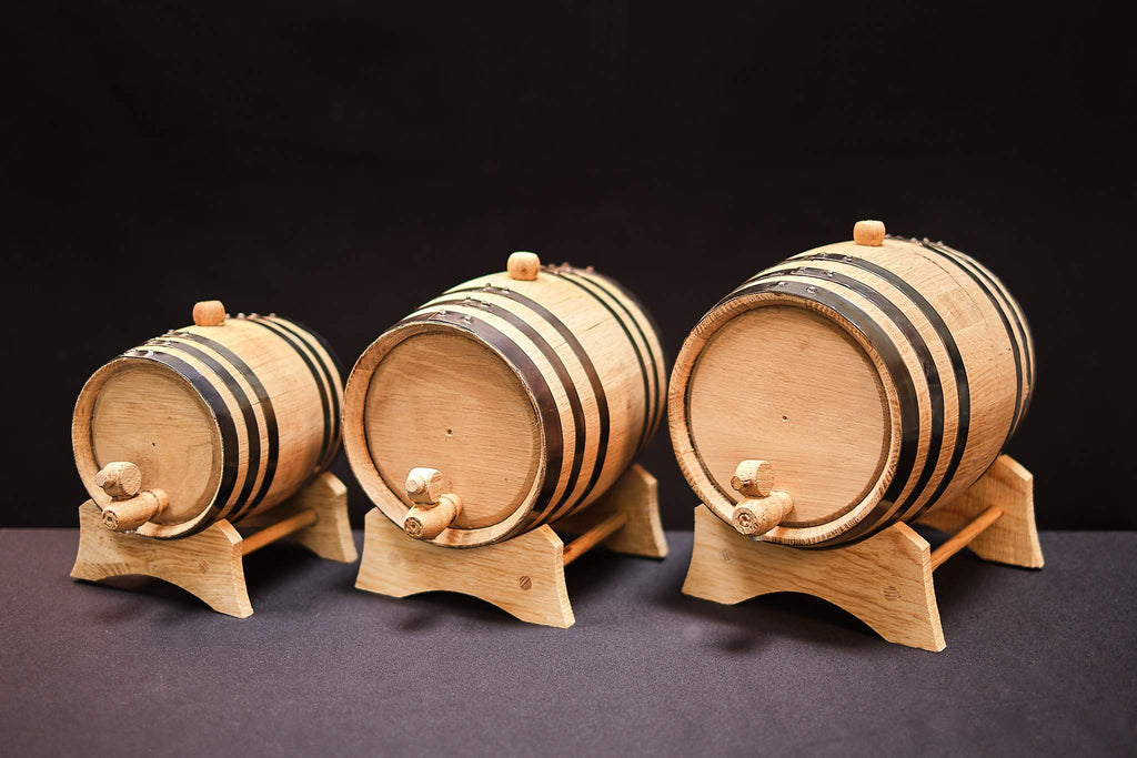 American Oak Baby Barrels for Aging - Baby Barrels
