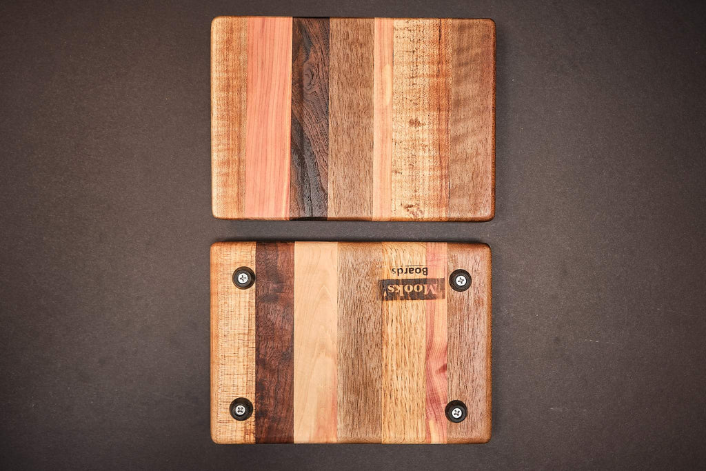 "8 x 5.5"" - Laminated with Feet - Baby Barrels"