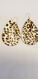 Animal print earrings