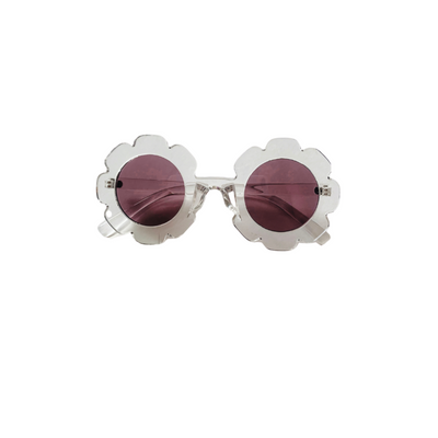 Clear Flower Sunglasses for Girls and Babies