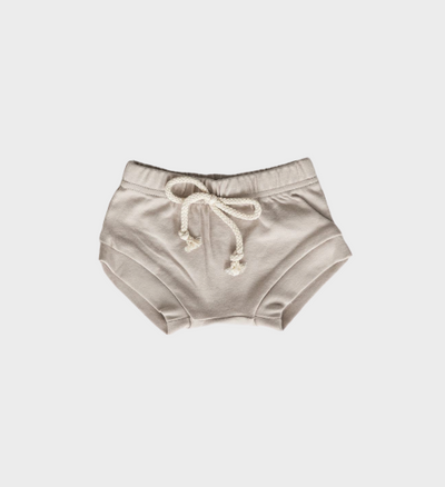 Cotton Ash Shorts, Ash Shorties, Ash Bummies for babies and toddlers