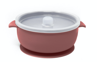 Baby Silicone Feeding Bowl with lid