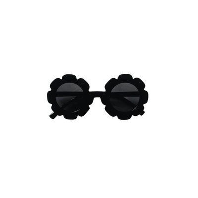 Black Flower Sunglasses for Babies and Girls