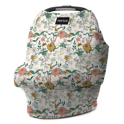 Floral Milk Snob Wildflowers Car Seat Cover