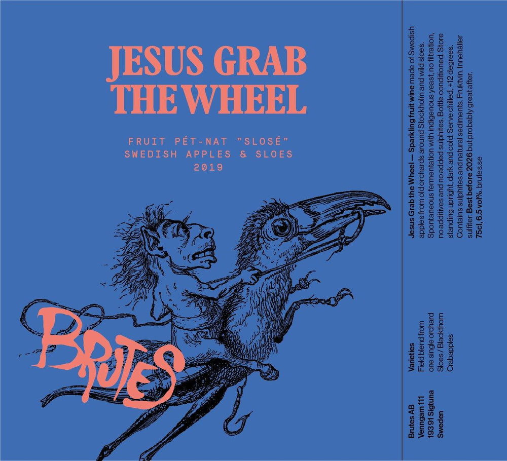 Brutes - Jesus Grab the Wheel - Fluid Fruit