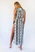 CLEOPATRA MAXI  - BLACK SERPENT