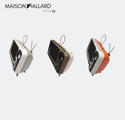 MAISON ALLARD™ |  Support De TéLéPhone Portable Retro Tv Bluetooth Speaker