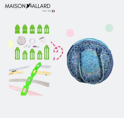 MAISON ALLARD™ | COLLECTION ROLLY SASHER (30 PINCES À ÉPINGLER GRATUITES)