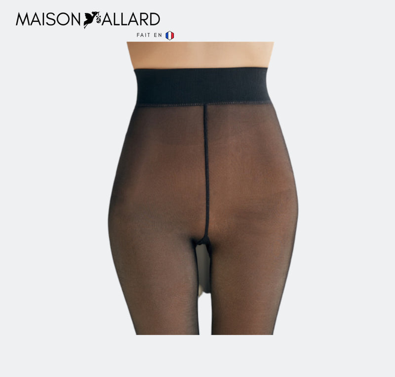 MAISON ALLARD™ | COLLANTS D'HIVER INVISIBLES DOUBLÉS DE MOLLETON