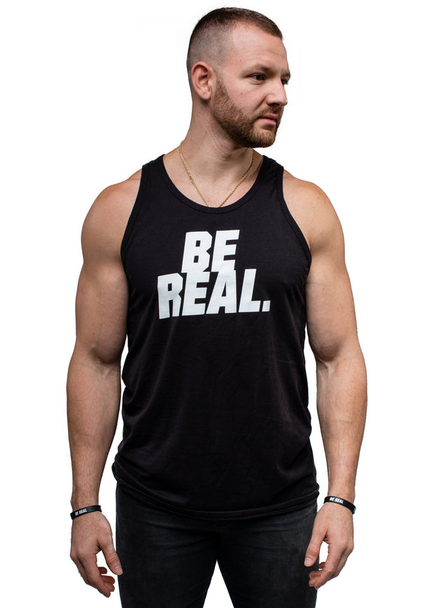 BE REAL BE YOU Men's Tank Top