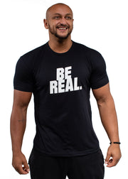 BE REAL BE YOU Men's T-Shirt