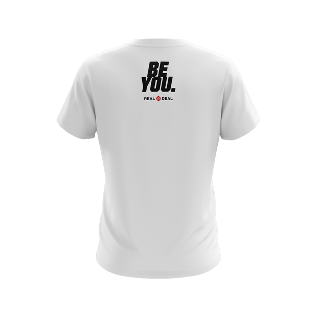 BE REAL BE YOU UNISEX T-SHIRT