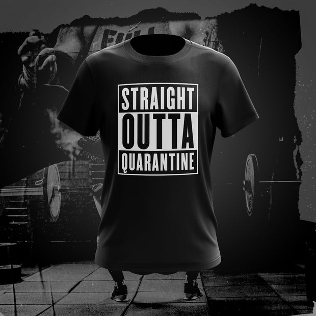 STRAIGHT OUTTA QUARANTINE Unisex T-Shirt (Presale)