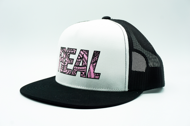 Polynesian Pink REAL Adult Classic Trucker Hat