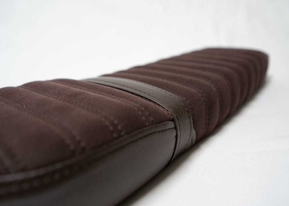 Selle pour Super73 (S1, S2 ou RX) - Alcantara Brown