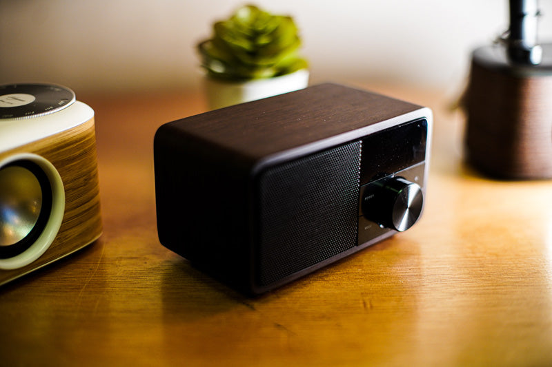 Enceinte Sangean ddr7 black wood