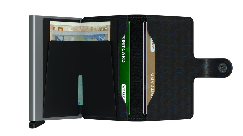 Porte-cartes Miniwallet Optical Black