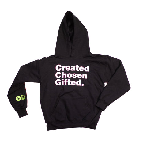Youth Created Chosen Gifted Hoodie