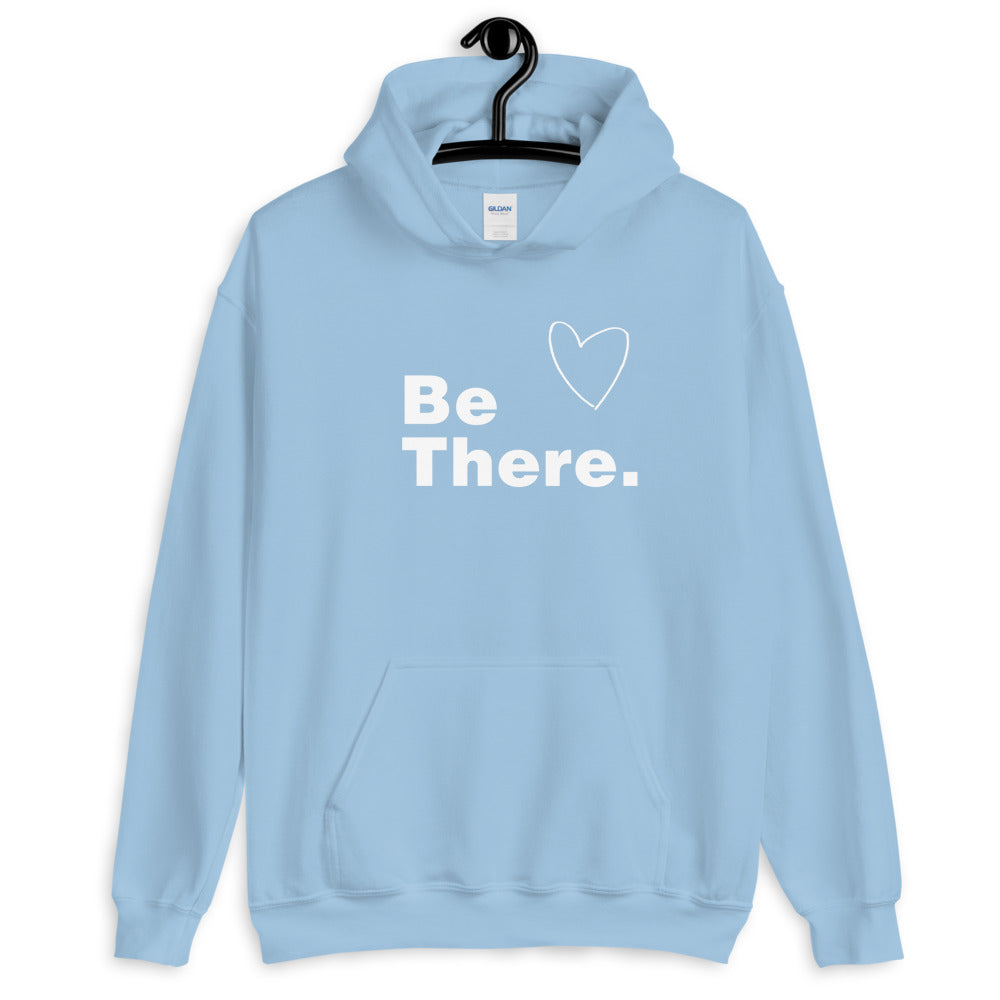 Be There Hoodie - Light Blue