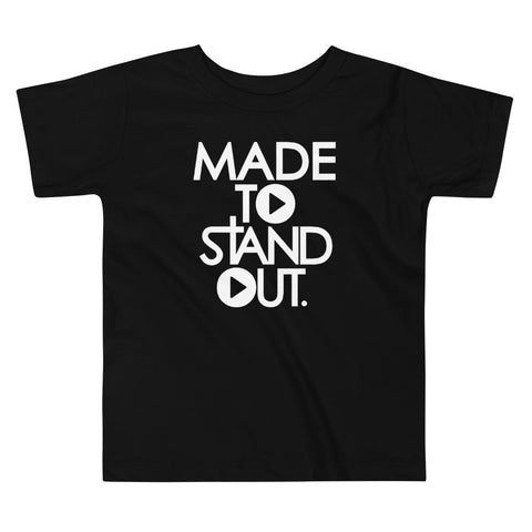 Made To Standout Toddler T-Shirt - Black