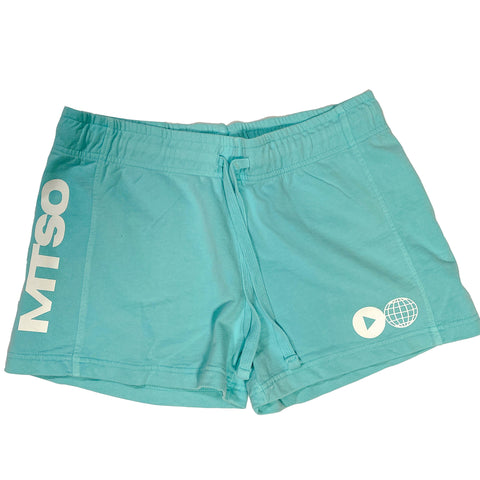 MTSO Women's French Terry Shorts - Mint