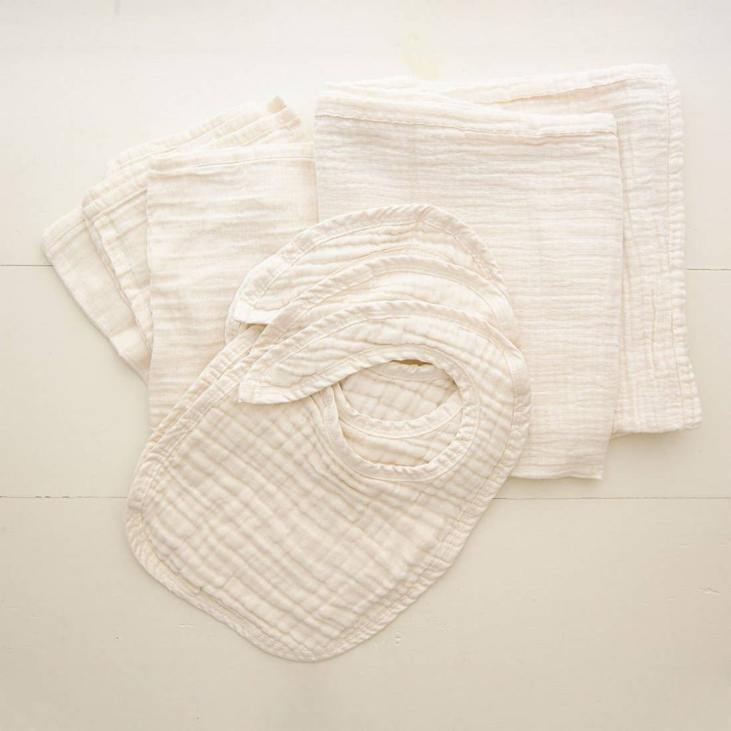 Un-dyed Bibs - 3 Pack - Chicke