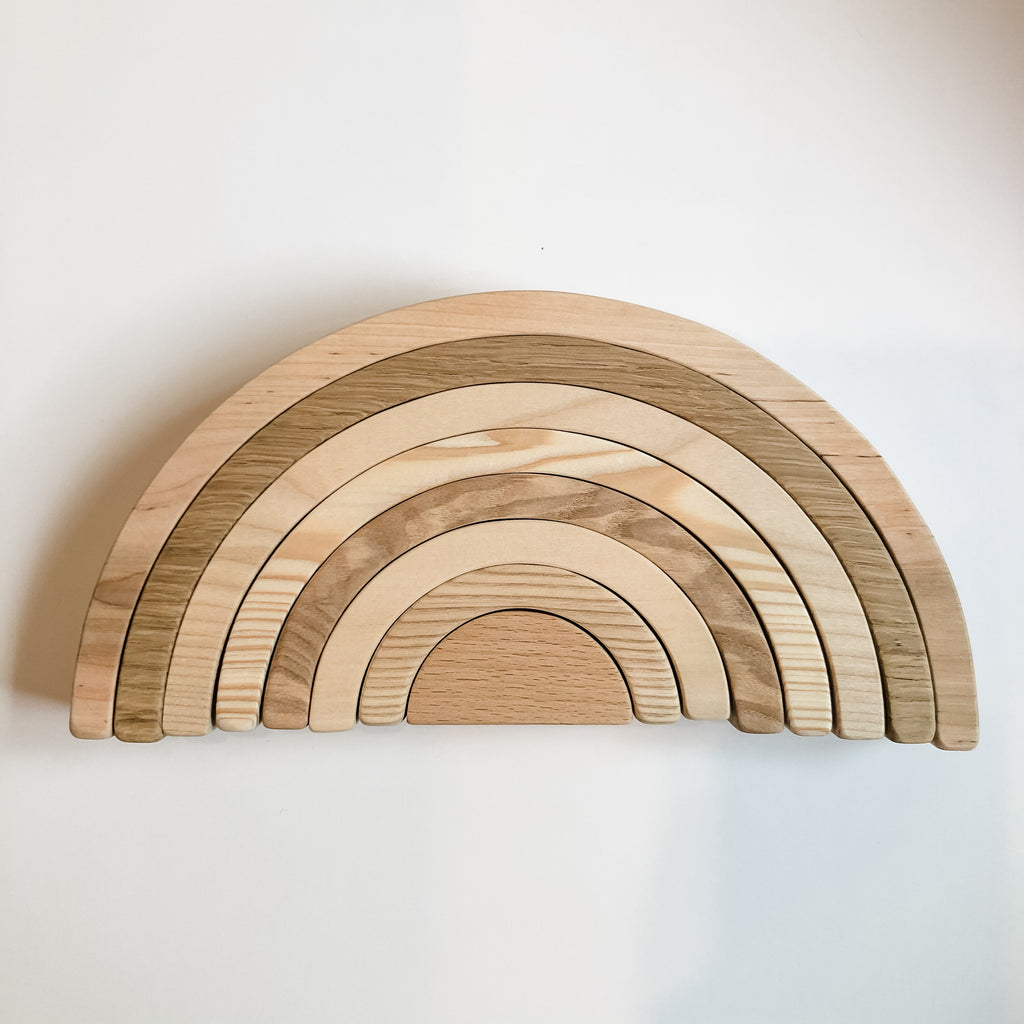 Wooden Rainbow - Natural
