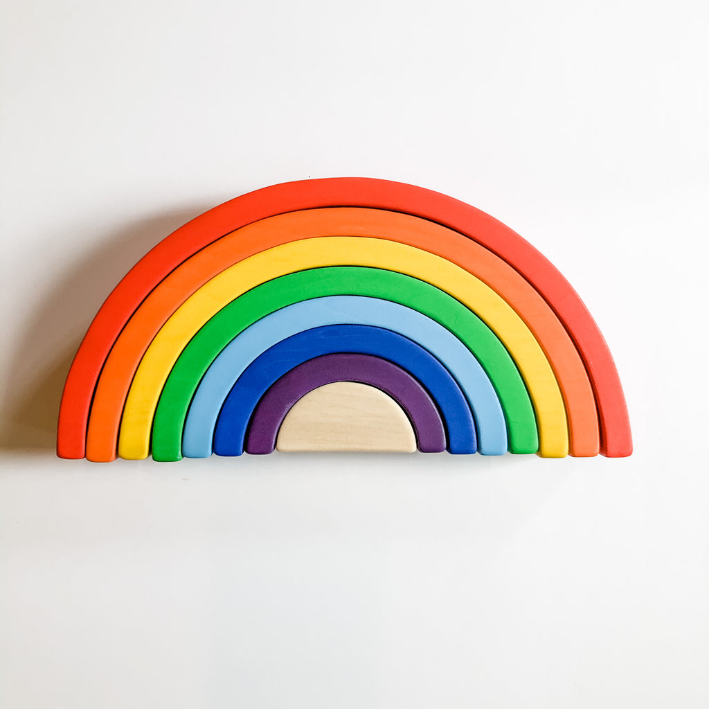 Wooden Rainbow - Traditional