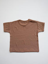Load image into Gallery viewer, Terry Boxy Tee - Cinnamon