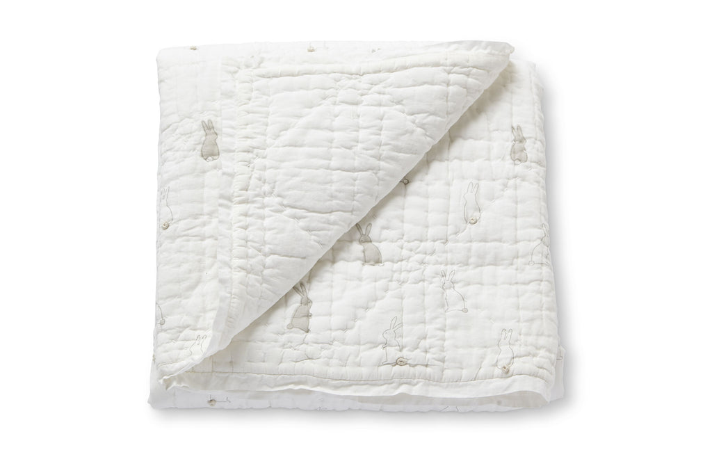 Quilted Blanket - Bunny Hop - Chicke