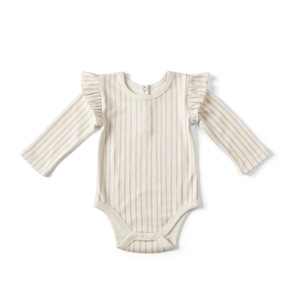 Organic Cotton Bodysuit - Petal - Chicke
