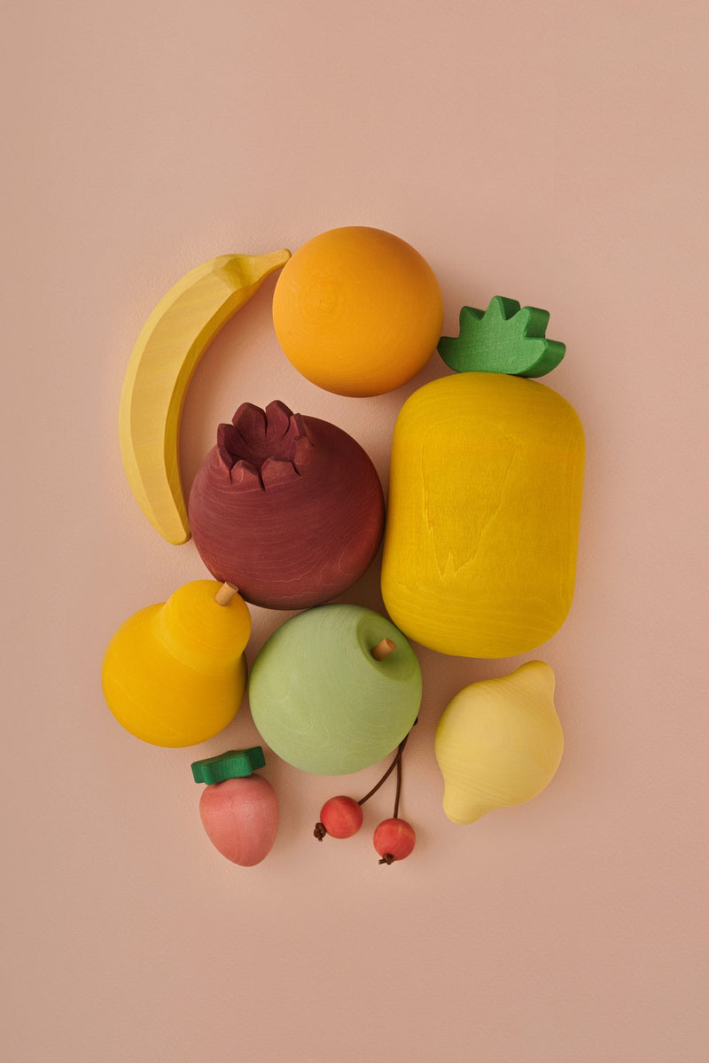 Wooden Fruit Play Set - Chicke