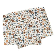 Load image into Gallery viewer, Harvest Floral Burp Cloth - Chicke