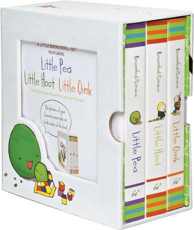 Little Books Box Set: Little Pea, Little Hoot, Little Oink