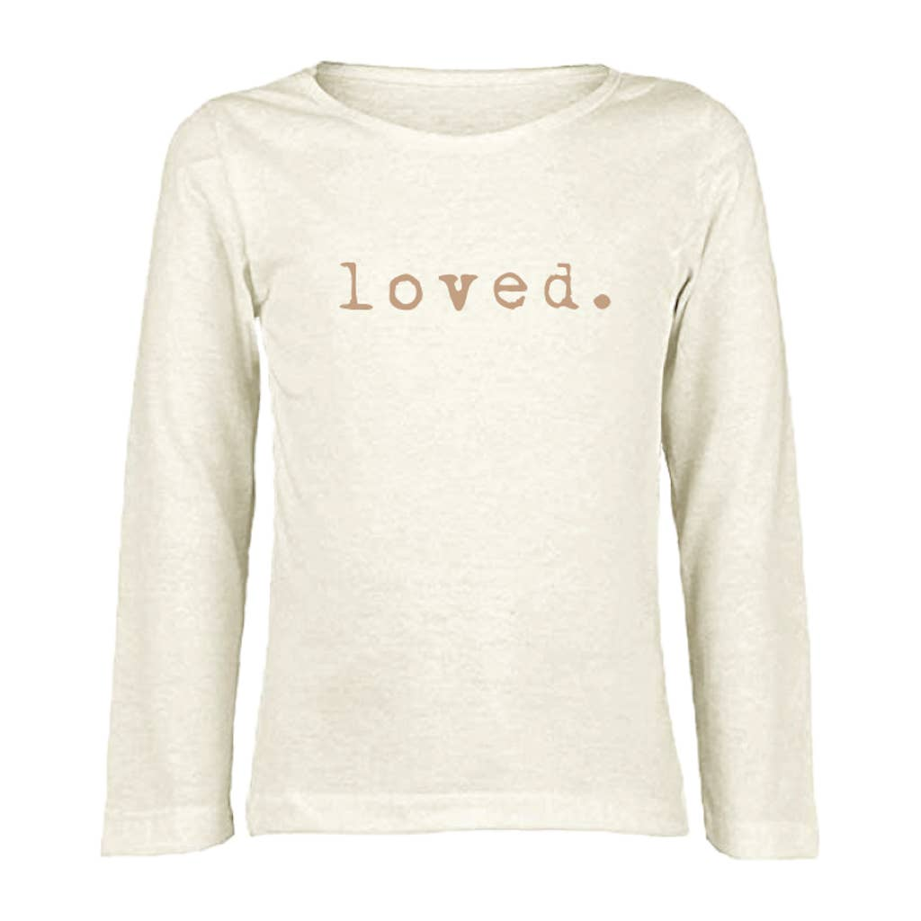 Loved Long Sleeve- Clay - Chicke