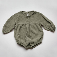 Load image into Gallery viewer, Meadow Romper - Sage - Chicke