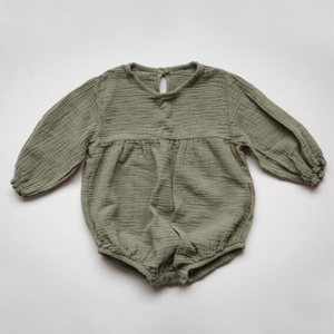 Meadow Romper - Sage - Chicke
